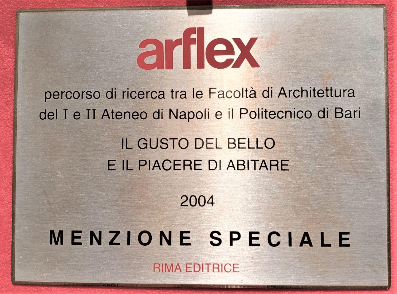 CONCORSO DESIGN ARFLEX MENZIONE SPECIALE