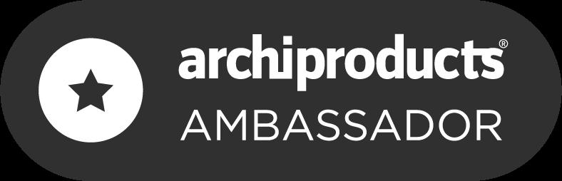 Archiproducts_Ambassador-Badge-Dark